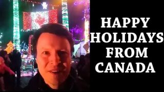 Happy Holidays from Canada! Learn English with Steve
